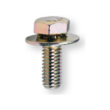 Hexagon Screw with washer M 6x16